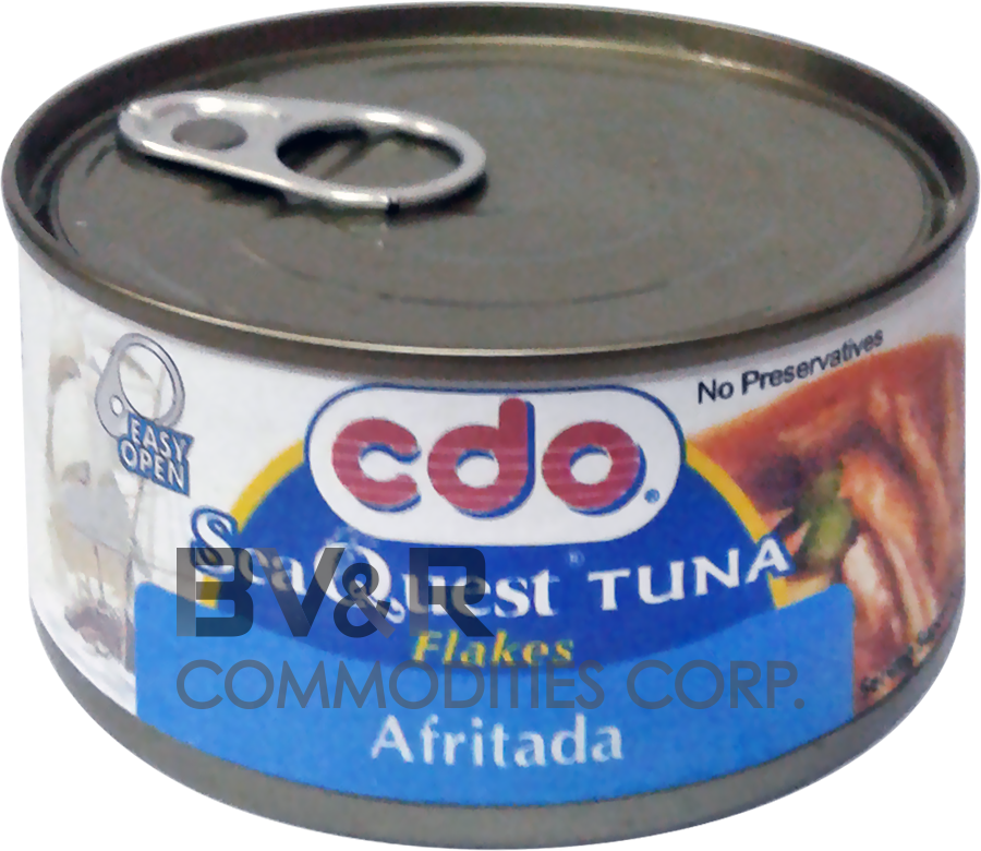 CDO SEA QUEST TUNA FLAKES AFRITADA