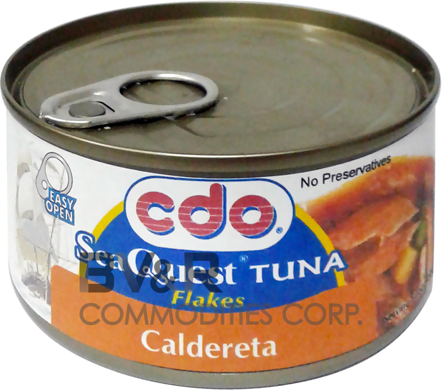 CDO SEA QUEST TUNA FLAKES CALDERETA