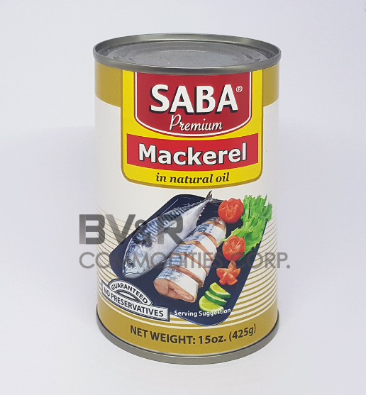 SABA PREMIUM MACKEREL in NATURAL OIL