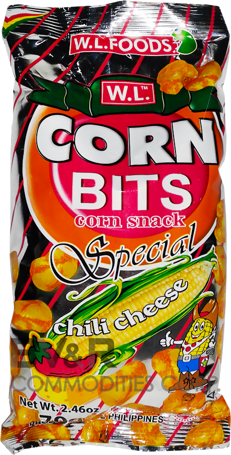 W.L. CORN BITS CORN SNACK SPECIAL CHILI CHEESE