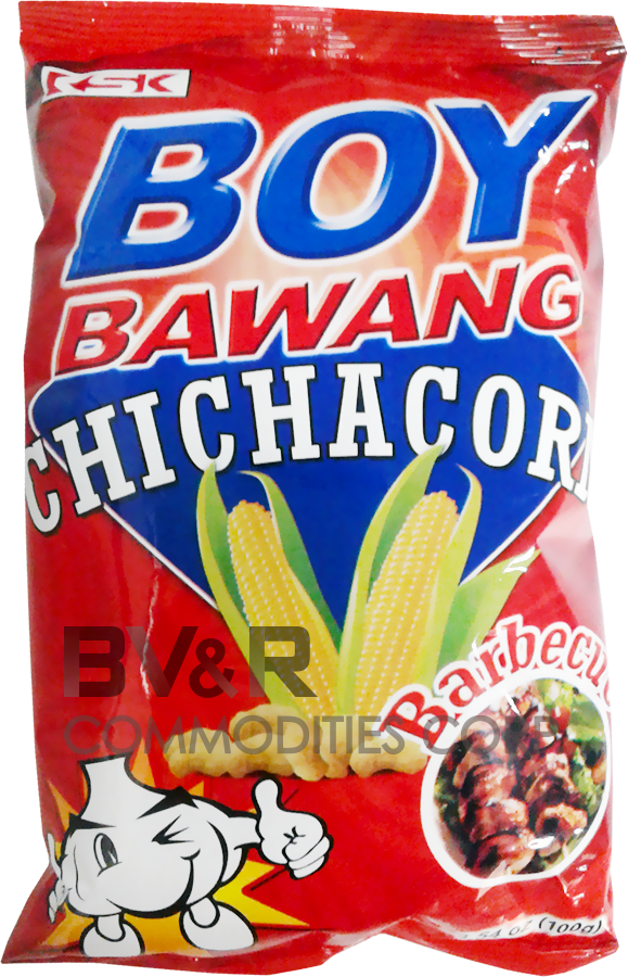 BOY BAWANG CHICHACORN BARBECUE FLAVOR
