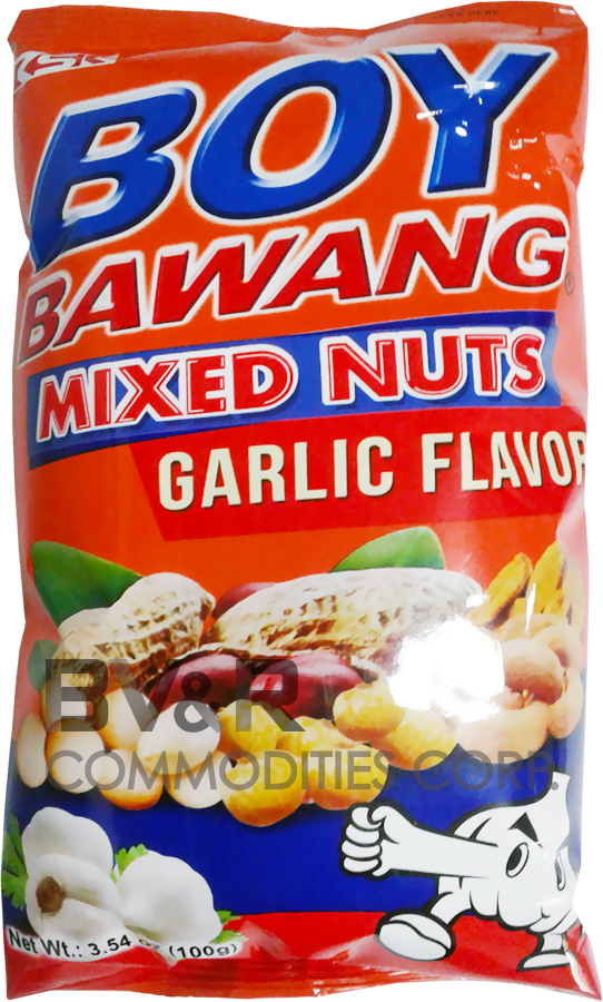BOY BAWANG MIXED NUTS GARLIC FLAVOR