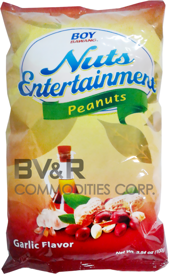 BOY BAWANG NUTS ENTERTAINMENT PEANUTS GARLIC FLAVOR