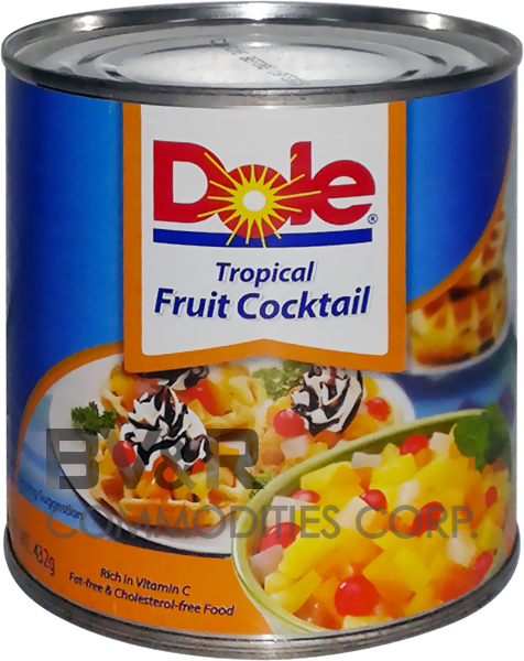 DOLE TROPICAL FRUIT COCKTAIL