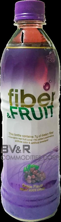 FIBER & FRUIT GRAPE FLAVOR FRUIT JUICE DRINK
