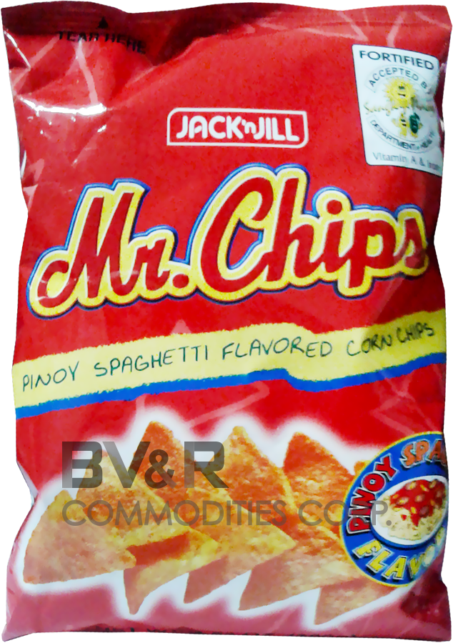 MR. CHIPS PINOY SPAGHETTI FLAVORED CORN CHIPS