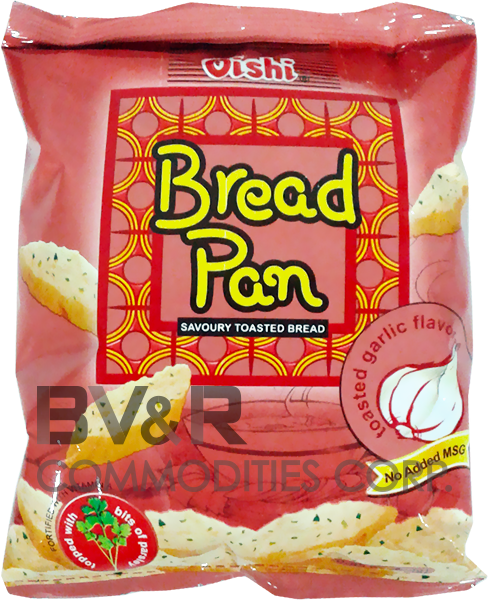 OISHI BREAD PAN SAVORY TOASTED BREAD TOASTED GARLIC FLAVOR