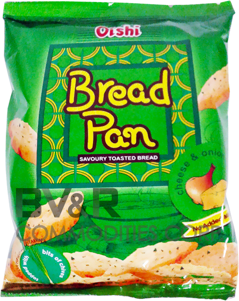 OISHI BREAD PAN SAVORY TOASTED BREAD CHEESE & ONION FLAVOR