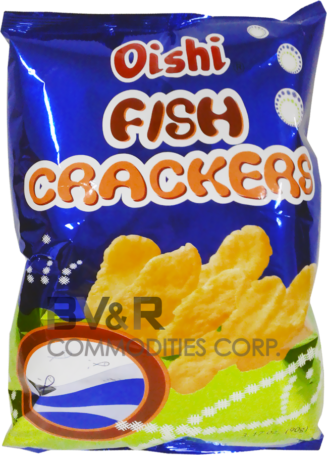 OISHI FISH CRACKERS