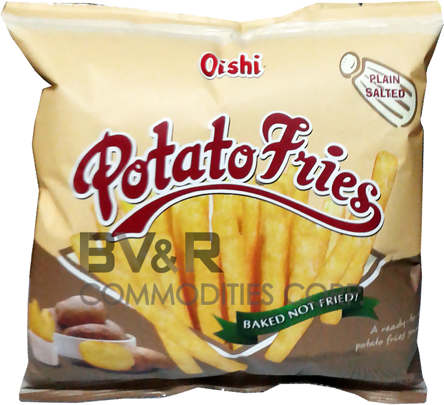 OISHI POTATO FRIES PLAIN SALTED