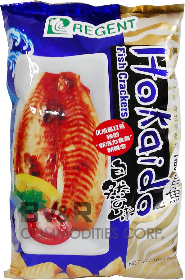 REGENT HOKAIDO FISH CRACKERS
