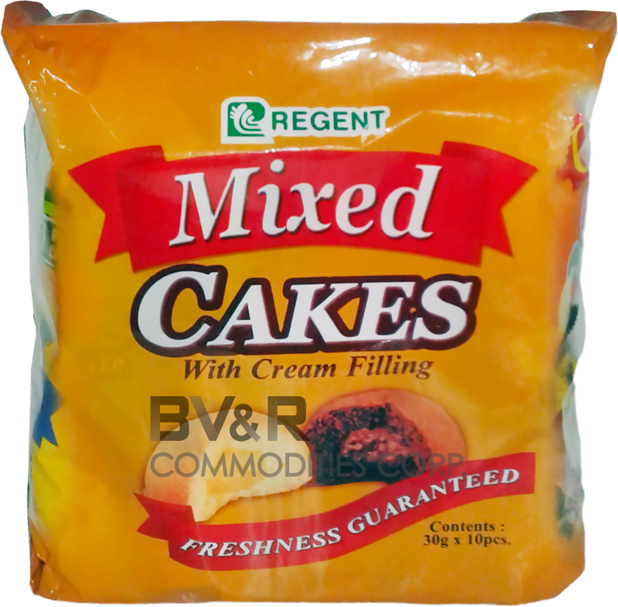 REGENT MIXED CAKES with CREAM FILLING