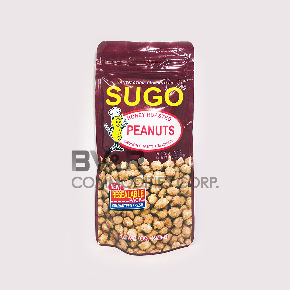 SUGO HONEY ROASTED PEANUTS