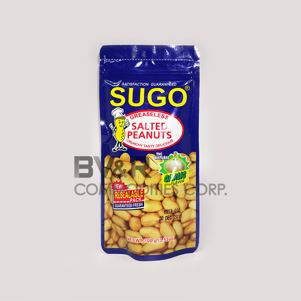 SUGO GREASELESS SALTED PEANUTS