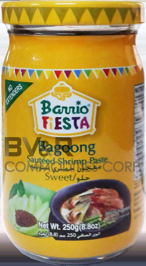 BARRIO FIESTA BAGOONG SWEET (SAUTÉED SHRIMP PASTE)