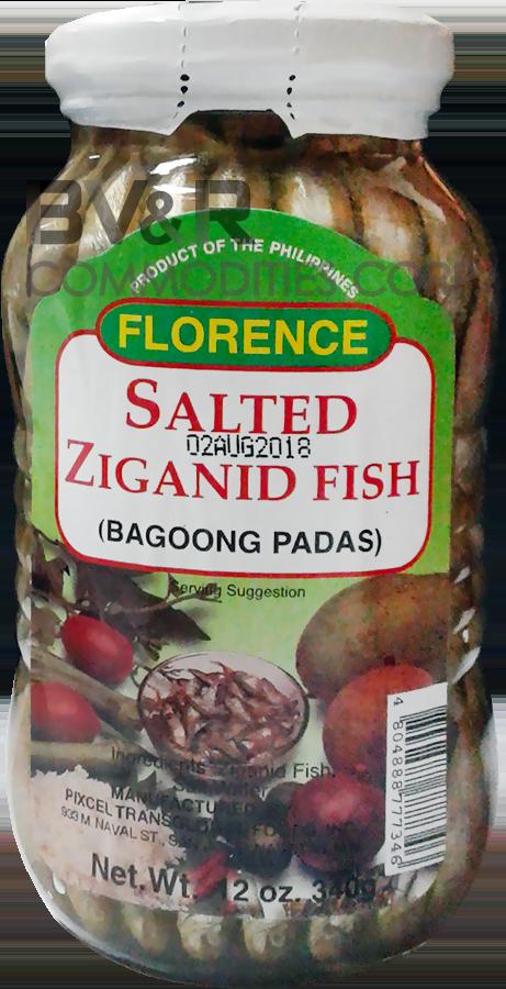FLORENCE SALTED ZIGANID FISH (BAGOONG PADAS)