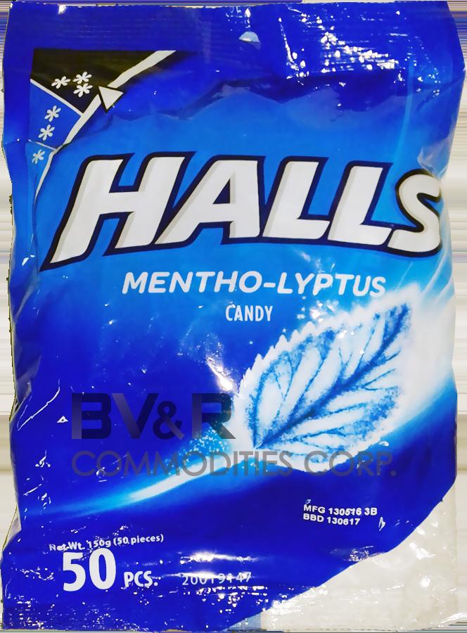 HALLS MENTHO-LYPTUS CANDY