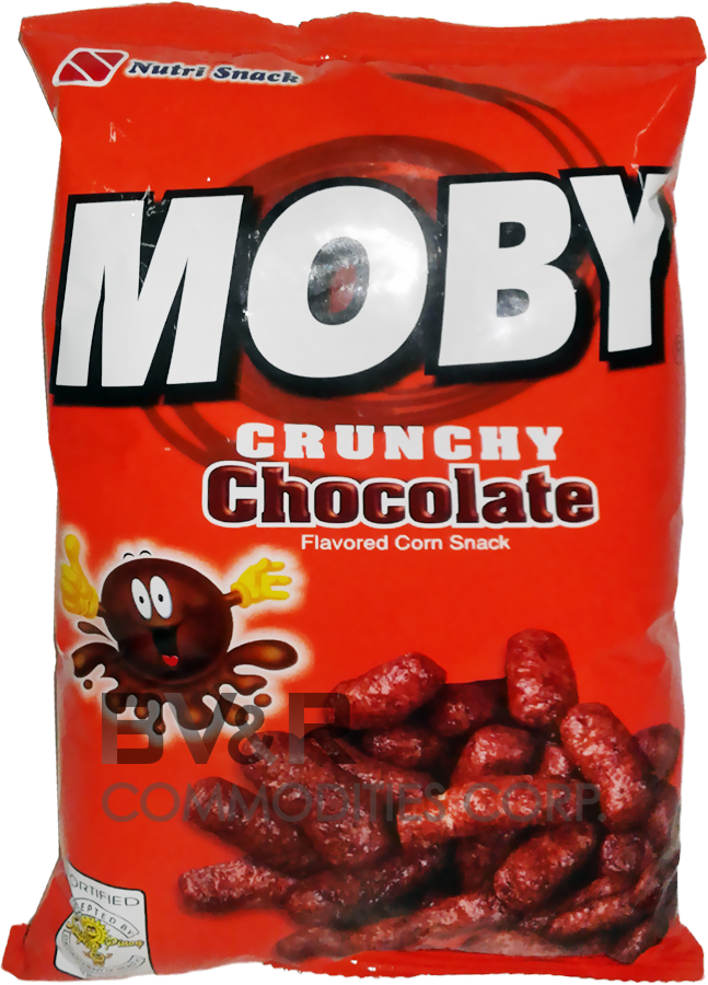 NUTRI SNACK MOBY CRUNCHY CHOCOLATE FLAVORED CORN SNACK