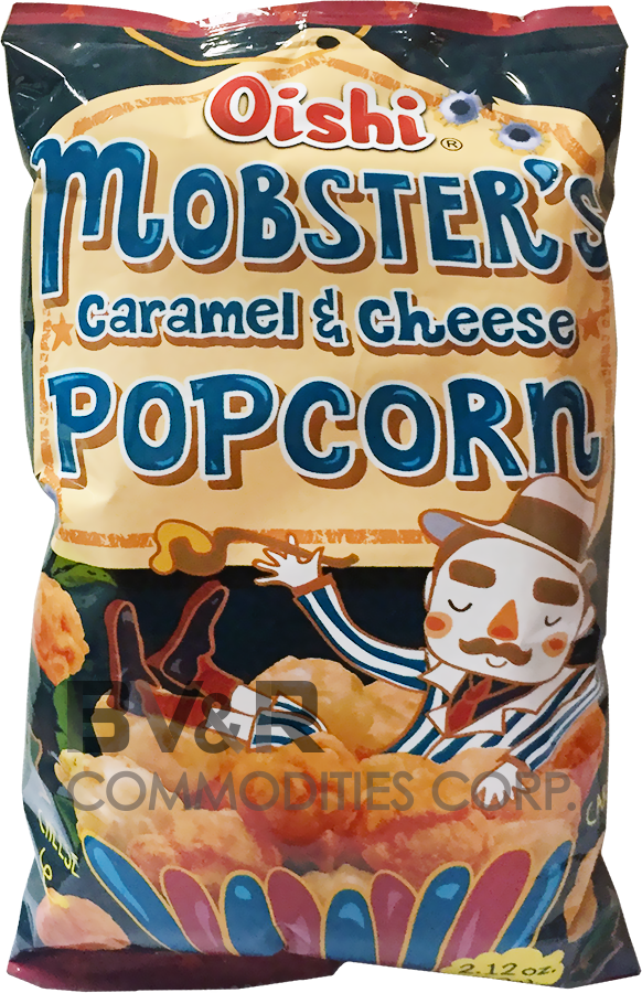 OISHI MOBSTER'S CARAMEL & CHEESE POPCORN