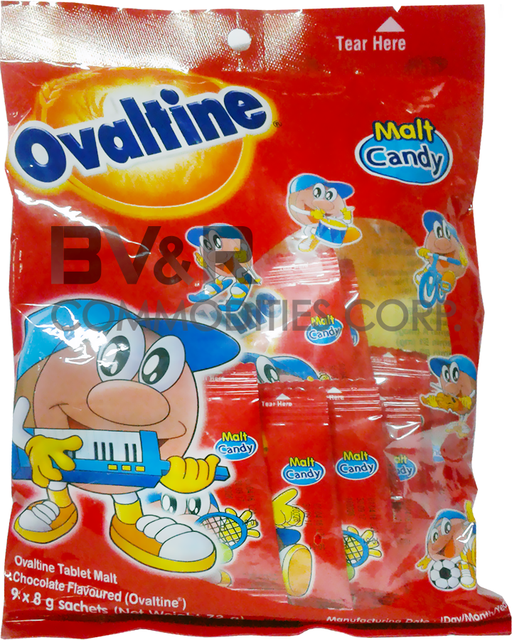 OVALTINE OVALTEENIES CHOC MALT TREATS